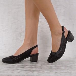 Дамски Обувки естествена кожа GS 7157