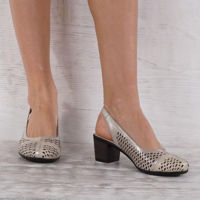 Дамски Обувки естествена кожа GS 7220