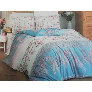 спален комплект-единичен AYTUNC 12966-1 RANFORCE памук 160x220