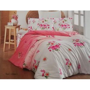 спален комплект-единичен AYTUNC 12969-1 RANFORCE памук 160x220