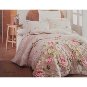 спален комплект-единичен AYTUNC 90012-6 RANFORCE памук 160x220