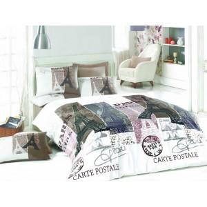 cпален комплект PARIS  100 % памук RANFORCE 200x220