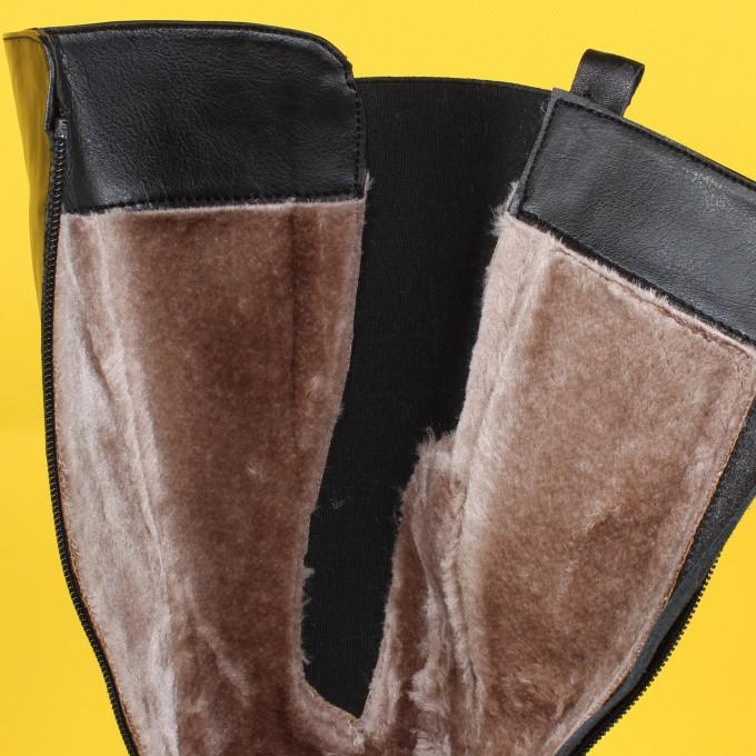 Дамски  ботуш естествена кожа VISINI 3720