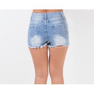 Дънкови къси панталони 4168