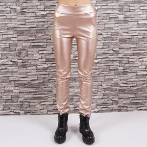 Дамски кожен панталон 4350