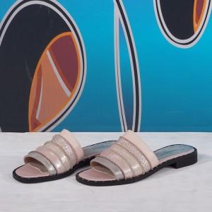 Дамски чехли естествена кожа VISINI 5749